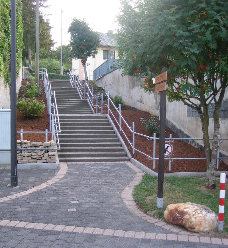 Treppe am Schankstor